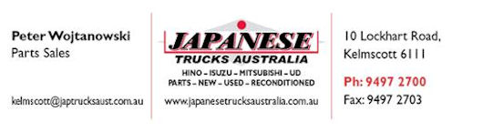 JAPANESE TRUCK PARTS INFO