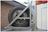 swing away spare wheel carrier 3